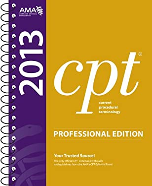 CPT 2013 Professional Edition 9781603596848
