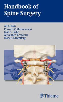 Handbook of Spine Surgery 9781604064193