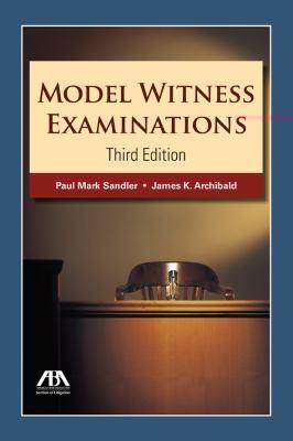 Model Witness Examinations 9781604429107