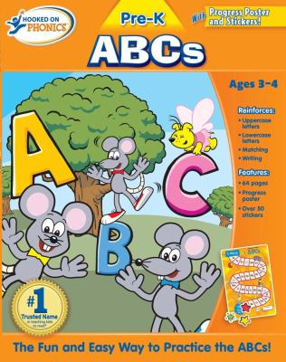 Hooked on Phonics Pre-K ABCs [With Poster] 9781604991246