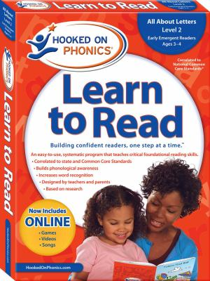 Hooked on Phonics Learn to Read, Pre-K, Level 2 [With Sticker(s) and Workbook and Flash Cards and DVD and Quick Start Guide and 3 Paperbacks] 9781604991390