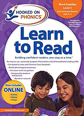 Hooked on Phonics Learn to Read, Kindergarten, Level 1 [With Sticker(s) and Workbook and DVD and Glasses and Quick Start Guide] 9781604991413