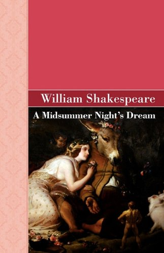 A Midsummer Night's Dream 9781605125824
