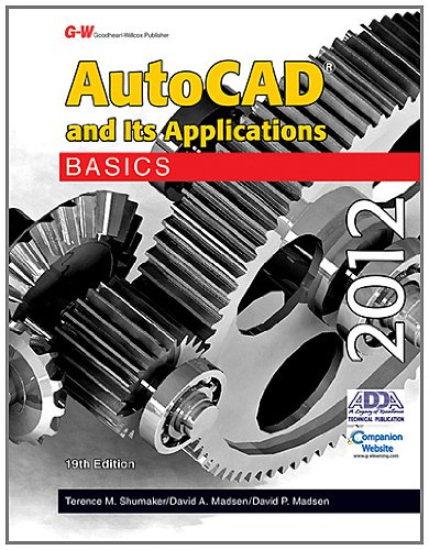 AutoCAD and Its Applications Basics 2012 9781605255613