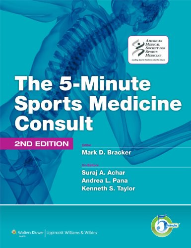 The 5-Minute Sports Medicine Consult 9781605476681