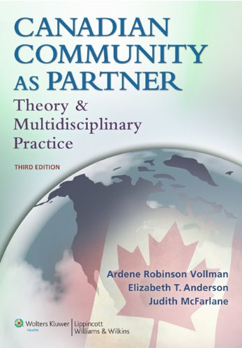 Canadian Community as Partner: Theory and Multidisciplinary Practice 9781605477091