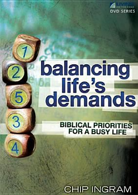 Balancing Life's Demands DVD with 1 Study Guide: Biblical Priorities for a Busy Life