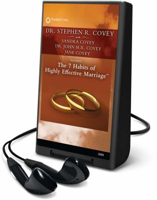 The 7 Habits of Highly Effective Marriage [With Headphones] 9781606405024