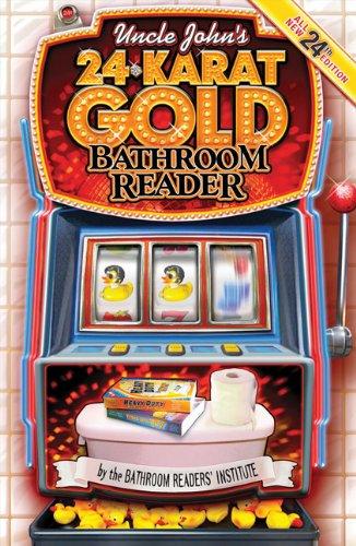 Uncle John's 24-Karat Gold Bathroom Reader