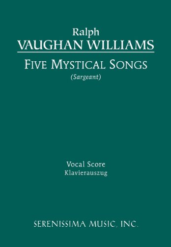 Five Mystical Songs - Vocal Score 9781608740482