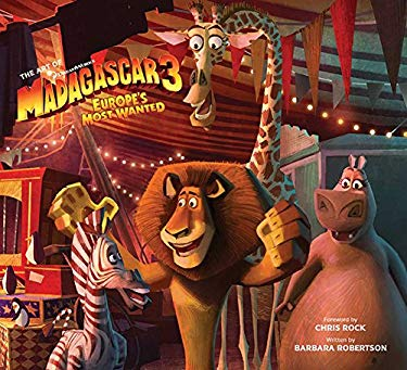 The Art of Madagascar 3 9781608870752