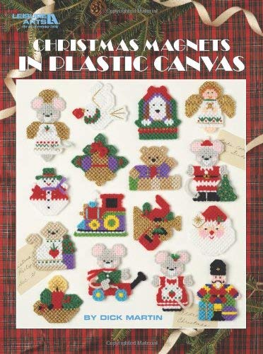 Christmas Magnets in Plastic Canvas 9781609000295
