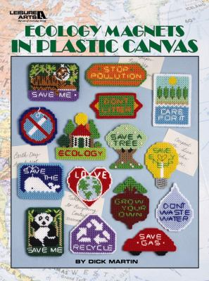 Ecology Magnets in Plastic Canvas 9781609000332