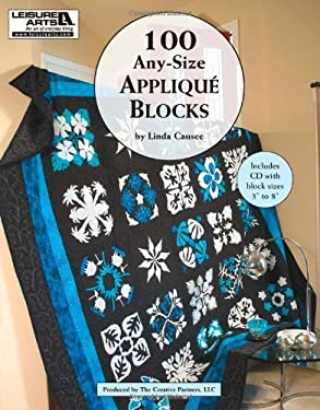 100 Any-Size Applique Blocks [With CDROM] 9781609002251