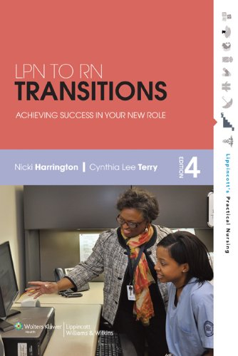 LPN to RN Transitions: Achieving Success in Your New Role 9781609136918