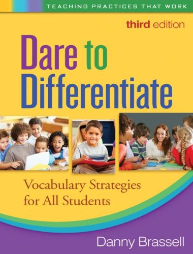 Dare to Differentiate: Vocabulary Strategies for All Students 9781609180058