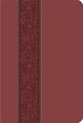 Ceb Common English Bible Large Print Thinline Decotone Cinnamon Bloom 9781609261061