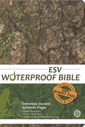 Waterproof Bible-ESV-Tree Bark 9781609690144