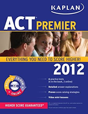 Kaplan ACT Premier [With CDROM] 9781609780531