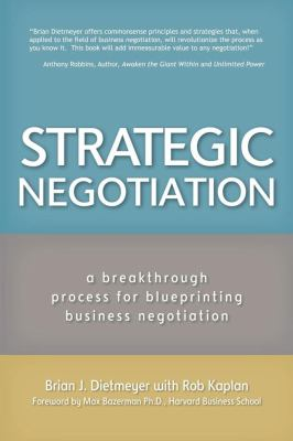 Strategic Negotiation 9781609786427
