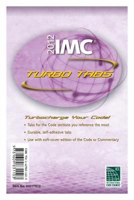 2012 International Mechanical Code Turbo Tabs for Paper Bound Edition 9781609831103