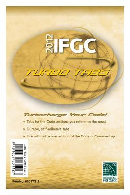 2012 International Fuel Gas Code Turbo Tabs for Softcover Edition 9781609831127