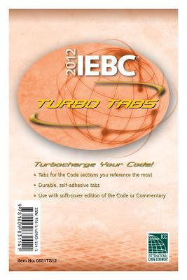 2012 International Existing Building Code Turbo Tabs for Paper Bound Edition 9781609831141