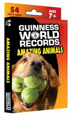 Guinness World Records Amazing Animals Learning Cards 9781609962173