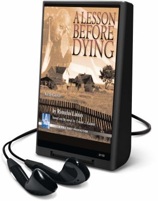 A Lesson Before Dying [With Earphones] 9781606409466
