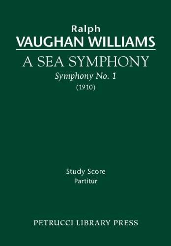 A Sea Symphony - Study Score 9781608740390