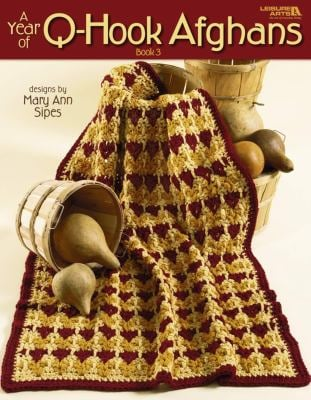 A Year of Q-Hook Afghans, Book 3 (Leisure Arts #3173) 9781601402943