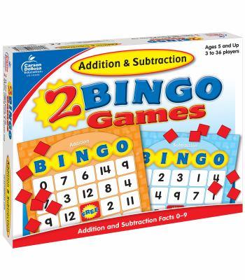 Addition & Subtraction Bingo 9781604180220