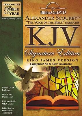 Alexander Scourby KJV Signature Edition Bible on DVD