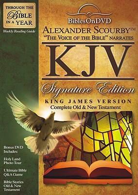 Alexander Scourby KJV Signature Edition Bible on DVD
