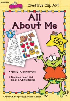 All about Me Clip Art 9781604181302