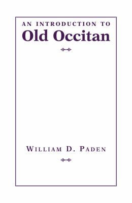 An Introduction to Old Occitan [With CD (Audio)] 9781603290548