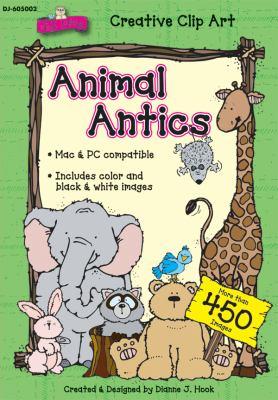 Animal Antics Clip Art 9781604181326