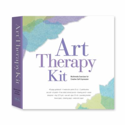 Art Therapy Kit: Multimedia Exercises for Creative Self-Expression [With Sea Salt/Oil Pastel and 4 Two-Sided Colored Pencils/Drawing Pencil and 2 Pain