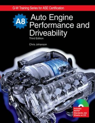 Auto Engine Performance and Driveability, A8 9781605250540