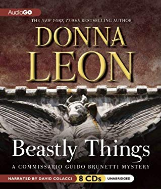 Beastly Things: A Commissario Guido Brunetti Mystery