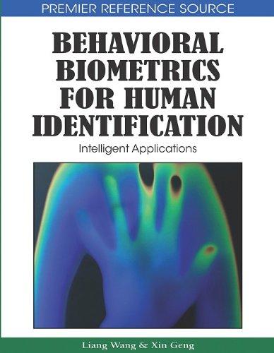 Behavioral Biometrics for Human Identification: Intelligent Applications 9781605667256