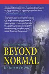 Beyond Normal: The Birth of Gay Pride 12568764