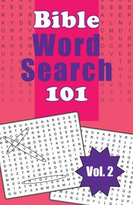 Bible Word Search 101, Volume 2