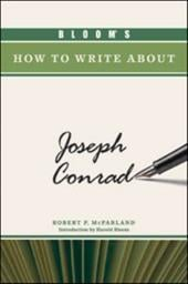 Bloom's How to Write about Joseph Conrad 7392109