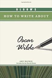 Bloom's How to Write about Oscar Wilde 7391764