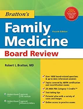 Bratton's Family Medicine Board Review [With Access Code] 9781608317196