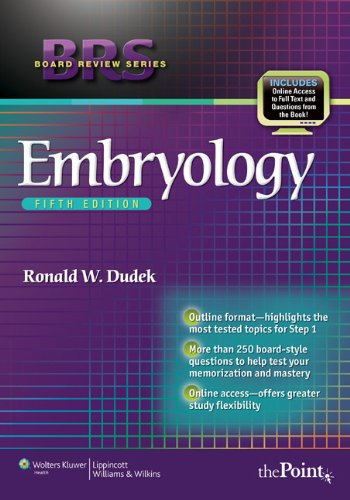 BRS Embryology [With Access Code] 9781605479019