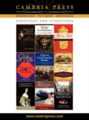 Cambria Press Languages and Literatures Catalog 9781604975826