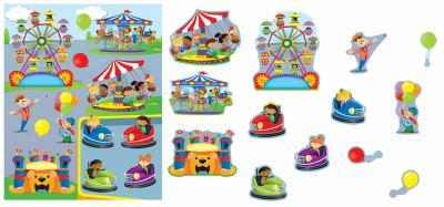 Carnival Shape Stickers 9781609966270