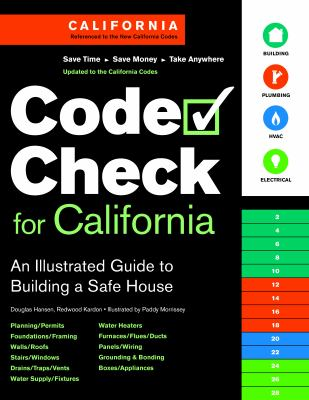 Code Check for California: An Illustrated Guide to Building a Safe House 9781600850844